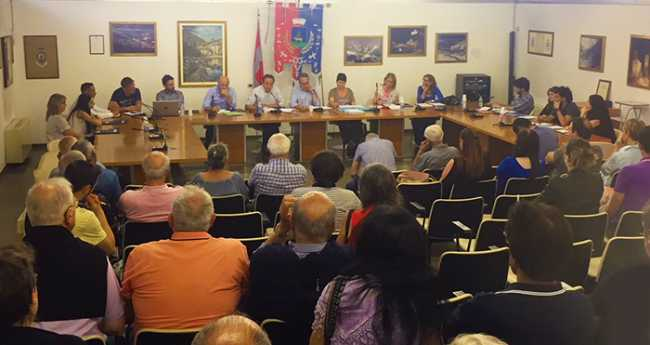 consiglio comunale villadossola villa giu 18 toscani