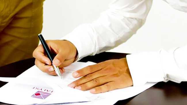 contratto firma a