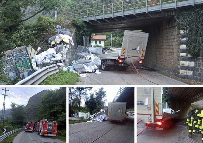 mortale bettola mergozzo camion mix