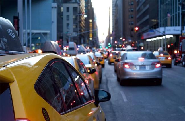 traffico taxi