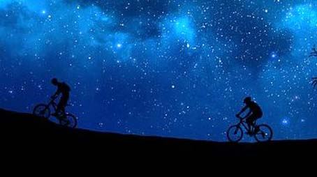 ciclismo notte