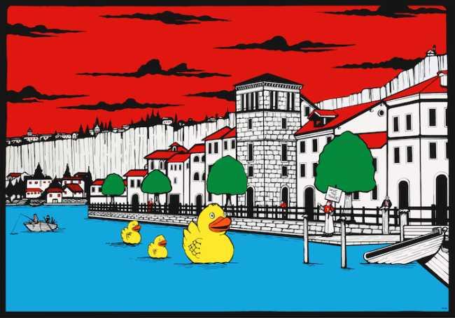 Riccardo Corciolani Save the Tower Torre casaforte Pella