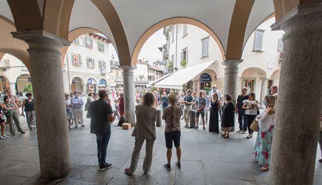 herbarium inaugurazione piazza mercato