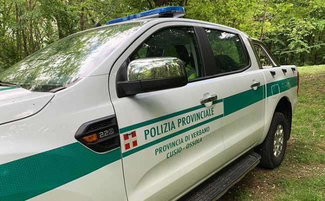 polizia provinciale pick up